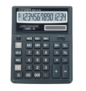 Калькулятор CITIZEN 14р 220х160х43мм SDC-414