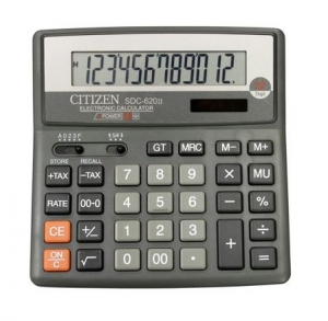 Калькулятор CITIZEN 12р 156х156х31,3мм SDC-620