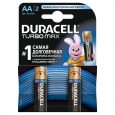 Батарейка R-06 1х2шт DURACELL Turbo 40шт/уп