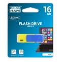 Флеш-драйв 16GB GOODRAM Colour UCО2 Blue/Yellow Retail