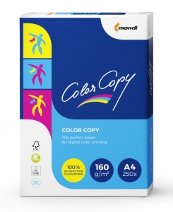 Бумага  Color Copy 160 г/м  А4 250л   (Mondi, Austria)