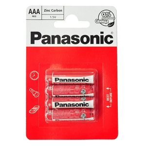 Батарейка R-03 1х4шт shrink PANASONIC Special 48шт/уп