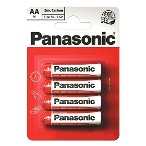 Батарейка R-06 1х4шт shrink PANASONIC Special 48шт/уп