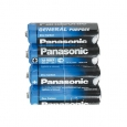 Батарейка R-06 1х4шт shrink PANASONIC General 48шт/уп